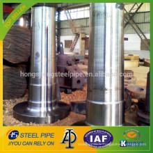 Grand fabricant d'arbre à turbine en acier forgé