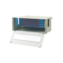 Panneau de raccordement à fibre optique Simplex, panneau de raccordement à fibre optique à 24 ports