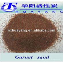 Forneça todos os tamanhos abrasivos areia granada