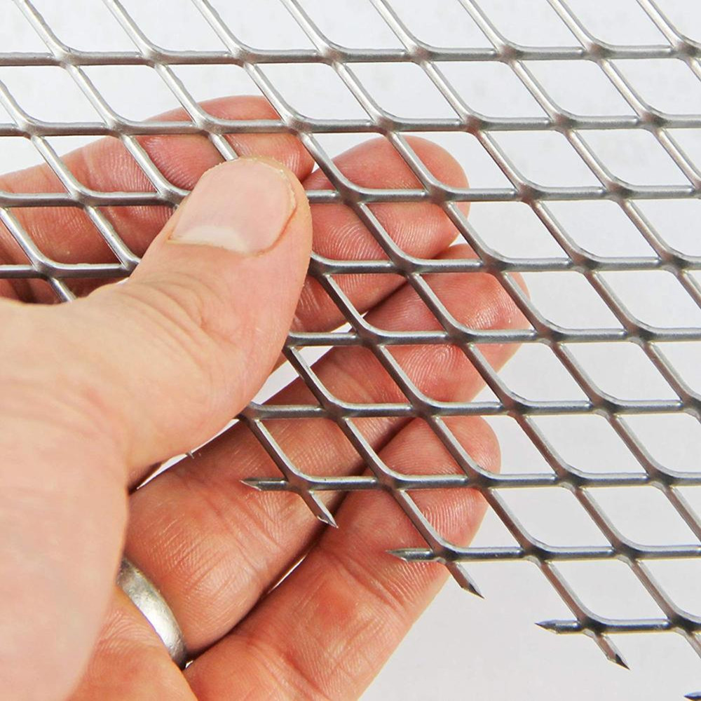 1mm Thick Aluminium Expanded Metal Mesh3