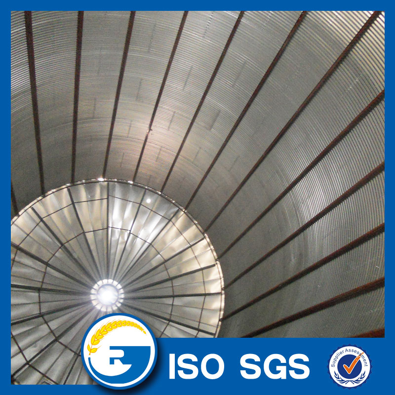 galvanized steel grain silos