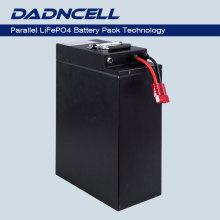 DADNCELL LiFePO4 12V100Ah (réel 102Ah) Pack Banque de batteries au lithium phosphate haute capacité personnalisée en usine pour navires