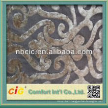 Cut Pile Velour Fabric Material for Sofa Set