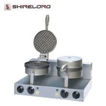Furnotel Industrial Heart Shapes Waffle Baker Custom Iron