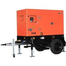 17kw Waterproof Soundproof Mobile Trailer Diesel Generator