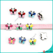 Pequena borboleta colorida deslizante encantos jóias diy (sc16040958)