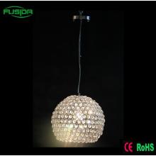 Zhongshan fábrica de una lámpara de cristal colgante de iluminación