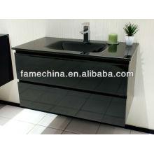 2013 Black High Gloss Traditional Bathroom Vanity Units