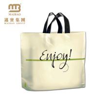 popular high quality printing plastic bag pe ld garment bags plastic