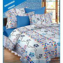 Hoja de cama del lecho del algodón 4PCS (sistema)