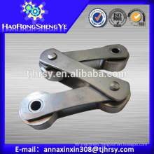 Industrial roller chain for sewage treatment