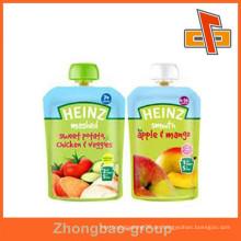OEM Accept Food Grade aufstehen Flüssigkeit aufstehen Beutel mit Tülle für Getränke / Milch Verpackung