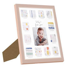 12x13 inch Custom Picture Frames  for Baby First Year Keepsake Baby Present Memory Home Decoration
