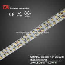 UL High CRI Epistar 1210 Dual-Line LED Flexibler Streifen, LED-Licht