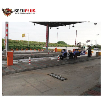 Gateway under vehicle screening explosive detection system for police