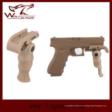 Militar Airsoft táctico plegable Foregrip de empuñadura de pistola