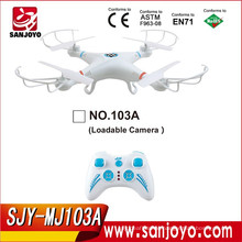 Headless Fly One Key return with 4CH 2.4ghz 6-axis Gyro Rc Quadcopter Drone UFO RTF without camera SJY-MJ-103A