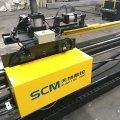 Apm1010 CNC ângulo ferro perfuração marcação linha de corte