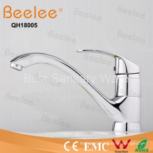 Lead Free Chromed Single Handle Long Spout Cupc Ktichen Sink Faucet