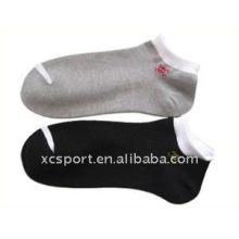 Algodón tobillo deporte calcetines hombres