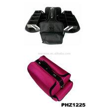 bolsa de maquillaje impermeable con 4 bandejas extraíbles interior fabricante