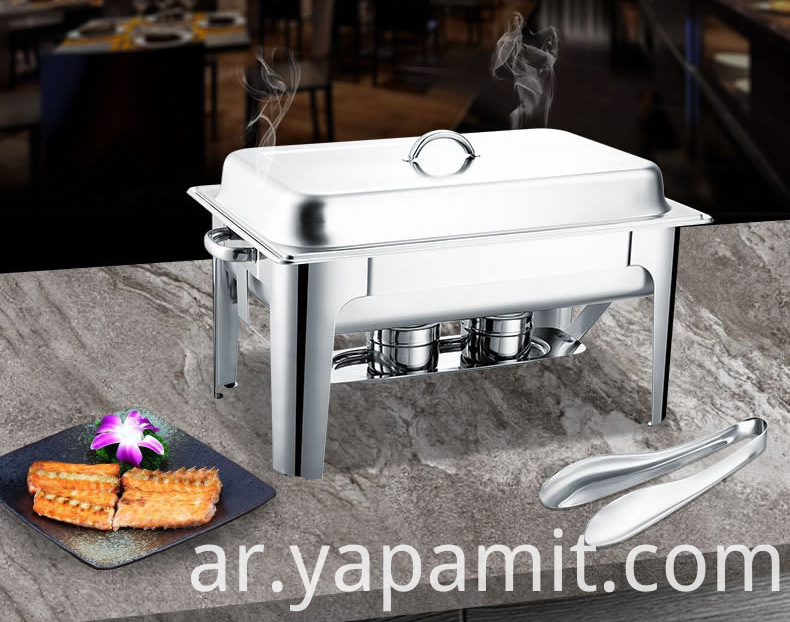 High-end Stainless Steel Chafing Dish for buffet