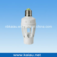 E27 / B22 360 Degree PIR Sensor Lamp Holder (KA-SLH01)