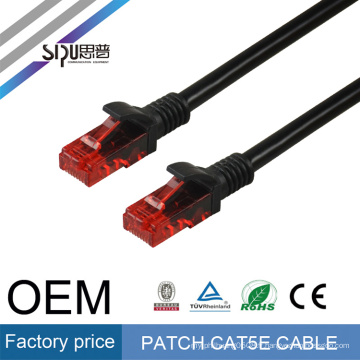 SIPU haute qualité CCA rj45 cat5 utp patch câble meilleur prix utp cat5e patch cordon 1 m 2 m 3 m gros chat 5 communication câble