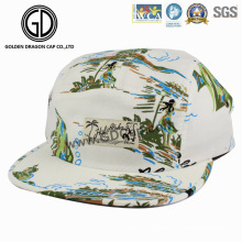 2016 Cute Sublimation Printing Snapback Camper Hat with Customized Logo