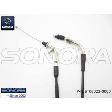 BT49QT-9D3 BAOTIAN Scooter Throttle cable