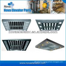 Customized Elevators Components / Parts, Passenger Elevator Ceiling for Elevator Cabin