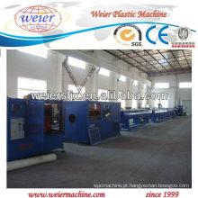 Máquina plástica da extrusora da tubulação do HDPE PP de 20-63mm