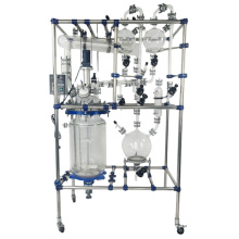 50L 100L  Chemical Lab High Quality Intelligent Double Glass Reactor