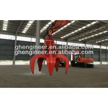 Экскаватор гидравлический Оранжевый пилинг Грейфер для металлолома