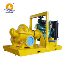 High flow rate centrifugal water pump
