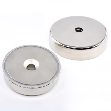 Round Cup Magnetic Assembly RB Magnet