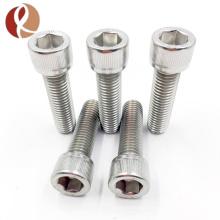 Cylindrical Titanium Bolt