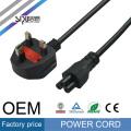 SIPU de alta calidad al por mayor de 220 v de cable para el fusible de la computadora eletrical ac plug uk cable de alimentación