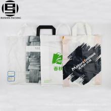 Atacado branco barato reciclável alça de loop para fazer compras