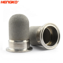 Anti-corrosion Microns Powder Porous Sintered Metal Filter Cartridge For Filtration System