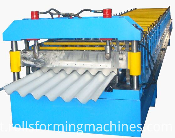 Color Cold Sheet Corrugated Roofing Machine
