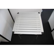 TopSales aluminio ligero al aire libre plegable mesa de Picnic (QRJ-Z-002)