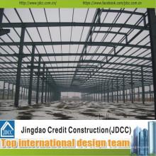 Bâtiment d'entrepôt en acier à faible coût Jdcc1025