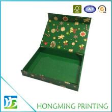 Christmas Paper Cardboard Folding Box with Custom Design