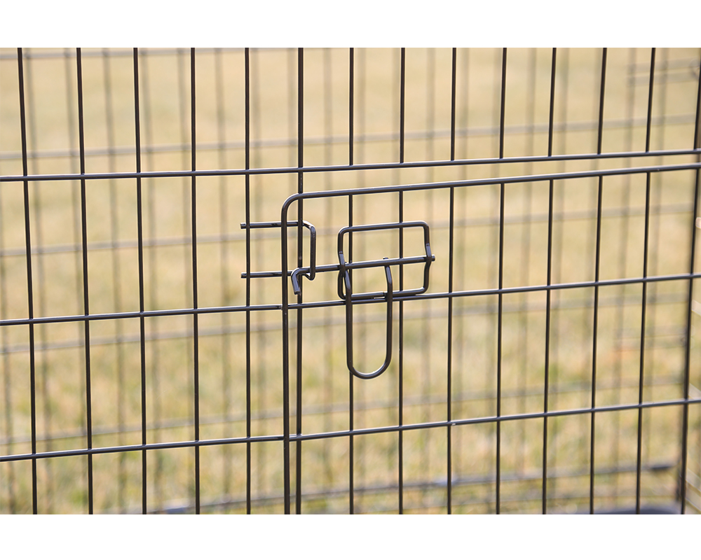 Black Dog Cage Wigh Handle