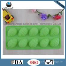 Pequeno Ovo de Páscoa Silicone Gelo Cube Bandeja Bolo Mould Si05