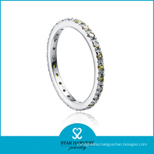 Fashion Silver Eternity Band Ring for Valentine′s Day (R-0153)