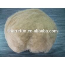 100% коричневого цвета верблюжьей пуховой волос