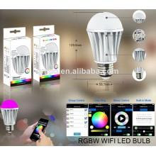 Temporizador de música Função de voz Bluetooth CCT Brilho Dimmable LED Bulb
