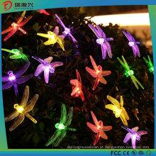 Luzes da corda do diodo emissor de luz da libélula, 16FT 20 iluminação estrelado dos diodos emissores de luz (Multi-cor)